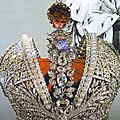 Imperial Crown of Russia created for <b>the</b> coronation of <b>Catherine</b> <b>the</b> <b>Great</b>, Russian Crown Jewels.
