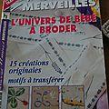 Magazine broderie <b>mains</b> et <b>merveilles</b>