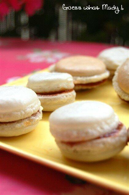 Macarons caramel et beurre salé