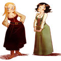 Les filles du tavernier !