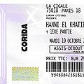 Hanni El Khatib - Mardi 10 Octobre 2017 - La <b>Cigale</b> (Paris)
