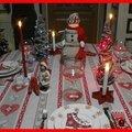 Table bonhomme de neige