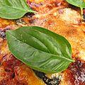 Gratin d'aubergines aux tomates et parmesan