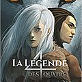 La légende des 4, tome 1, le clan des loups, de cassandra o'donnell