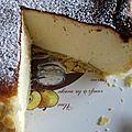 Le gâteau au fromage blanc alsacien