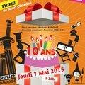 Soirée anniversaire vocalya, 7 mai 2015, tmp, 20h00: l'enfant et les sortilèges et phiphi