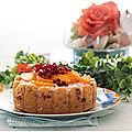 Gâteau aux pêches et groseilles à l'<b>Omnicuiseur</b> ou pas....