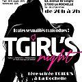 Soirée transgenres (tv, ts et leurs admiratrices/teurs..) le 18 novembre à la rochelle