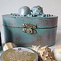 Challenge Art Playground : Sunken Treasure Box, a Mermaid tale.