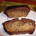 Cake poire noix
