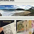 Jdub journal trip brazil