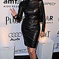 Sharon stone en cuir