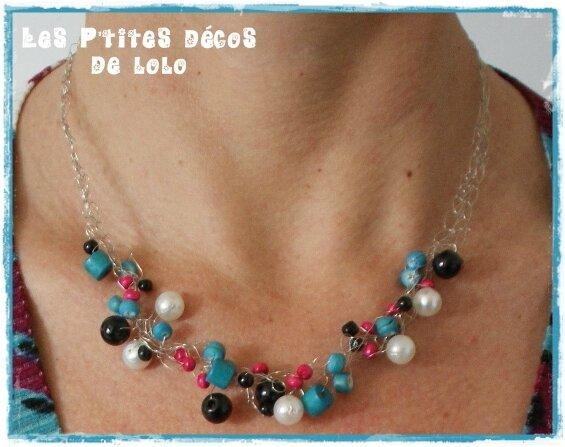 DIY bijoux : faire un collier au crochet