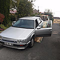 restauration r25 v6 turbo 1986