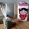 Customiser une boîte à thé en métal