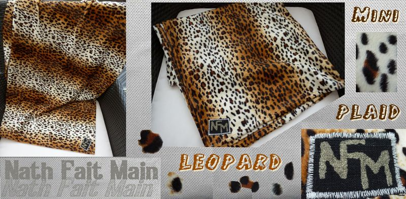 Mini Plaid léopard Natacha