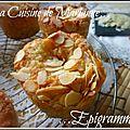 Muffins Amandes Amp Raisins Secs La Cuisine De Marianne