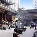 SHANGHAI (TEMPLE DU BOUDDHA DE JADE)