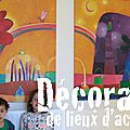 Décoration / Hopital de Niort 79 / fresques