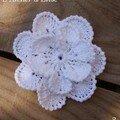 4. Broche fleur n°3