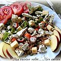 Salade thon-surimi & 3 fromages