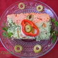 Terrine de poisson bicolore : une entrée aux couleurs vives pour vos tables de fêtes
