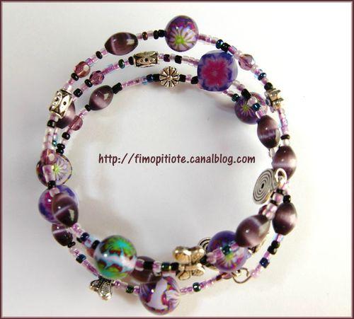 Bijoux pate fimo collier bracelet boucles d oreilles (30)