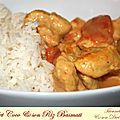 Poulet coco & son riz basmati