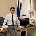 Gabriel Attal dit espérer un second tour sans <b>Marine</b> Le <b>Pen</b> en 2022