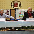 point-presse / réunion publique du collectif pro-<b>barrages</b> sur la Sélune à Ducey - lundi 13 octobre 2014