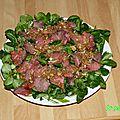 Salade façon thaï au boeuf