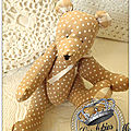 Doudou Ours 18 €