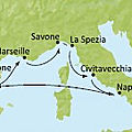 Croisière Fascinante Méditerranée - Costa Serena - septembre 2014