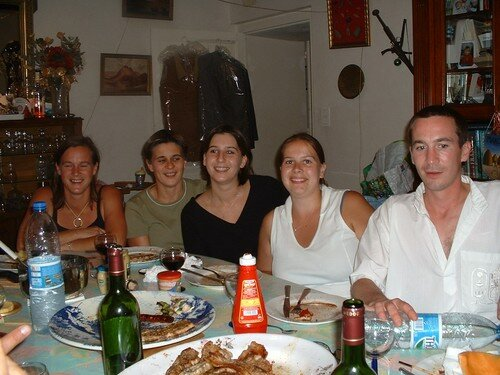 Mon frère et mes soeurs en juillet 2005