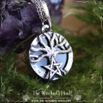 Pendentif arbre de vie et pentagramme amethyste 3 copie