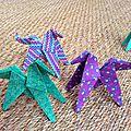 <b>Atelier</b> chevaux en <b>origami</b> du mercredi 18 au dimanche 22 janvier 2017 dans le cadre de Cheval Passion au Parc Expo Avignon