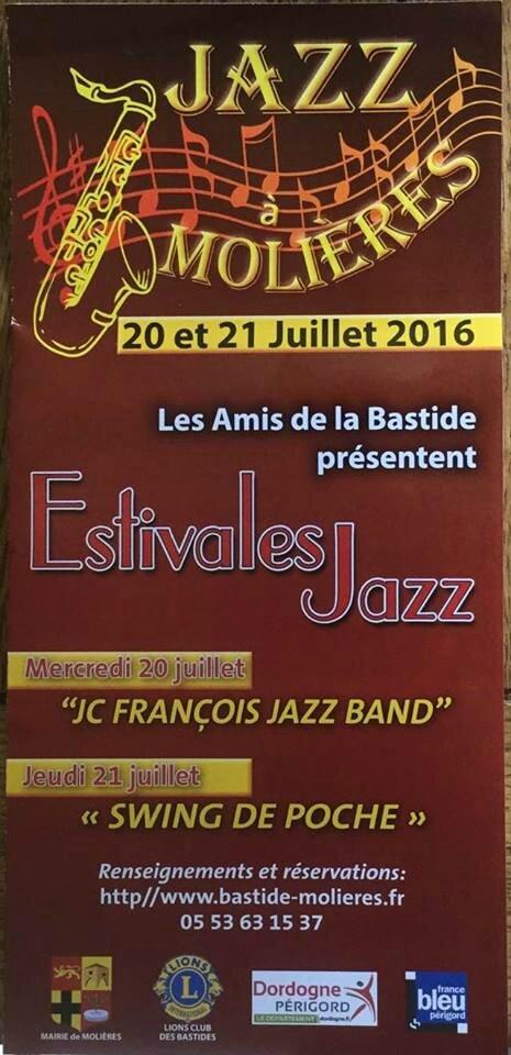 Jazz à Molières avec les Lions des Bastides du Périgord
