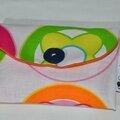 Pochette à mouchoirs multicolor