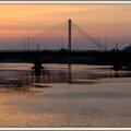 Le pont tabarly à l'aube