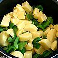 Velouté poivron pommes de terre