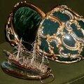 Les célébrissimes <b>oeufs</b> de Fabergé.