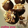 °cakes pops amande & chocolat noir°