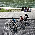 vélos, ombres, quai de seine_3498