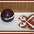 Sphere surprise au chocolat