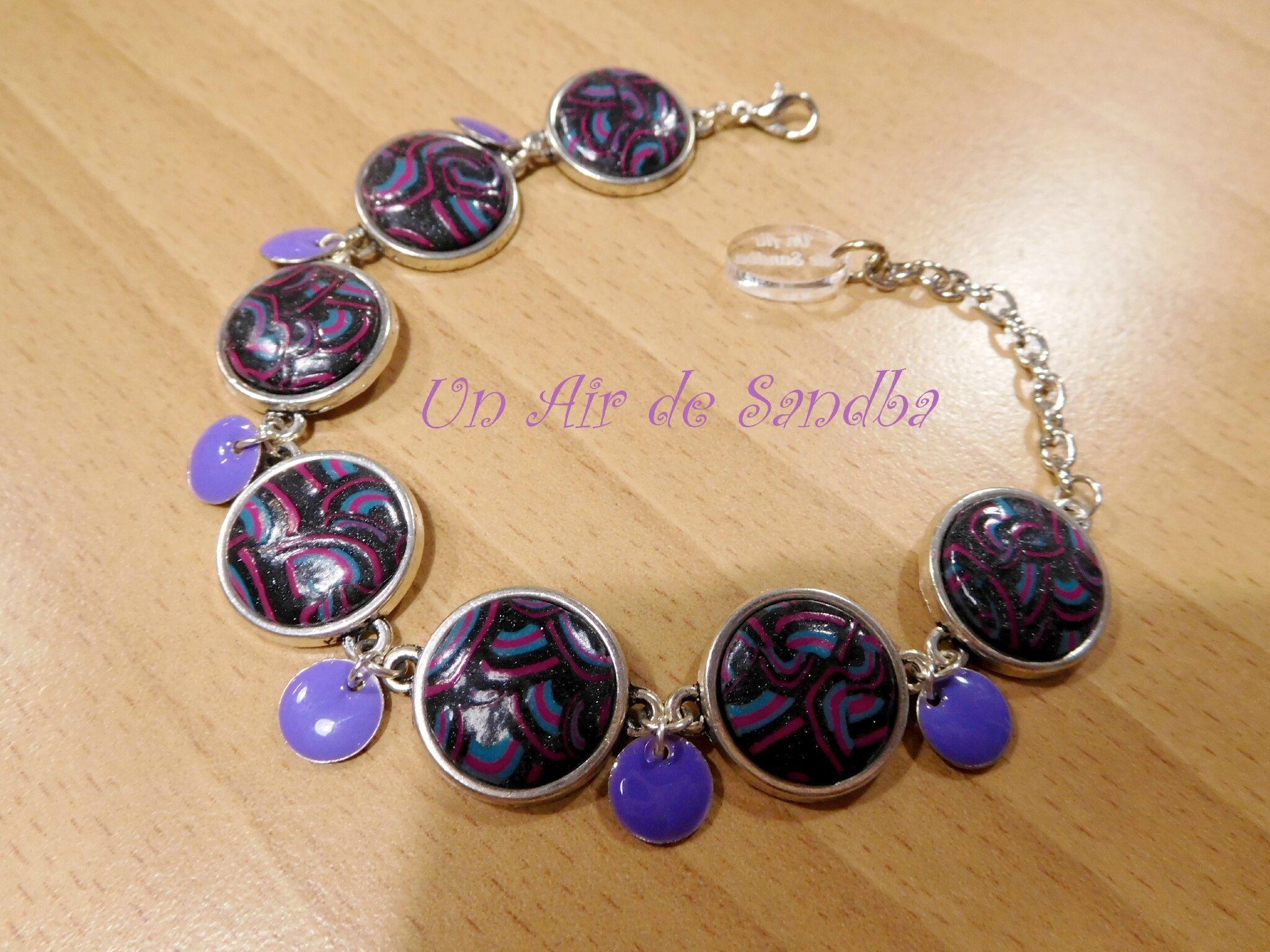 Bracelet Violetta (3)