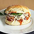 Sandwich aux boulettes de viande- de joey tribianni
