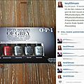 OPI et sa collection 50 Shades of Grey Avis