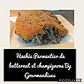 Hachis parmentier de butternut et champignons ( 415 cal/ par personne)