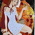 Chaperon rouge, 40x65, 2012
