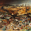 The Museo del Prado presents 'The <b>Triumph</b> of Death' by Pieter Bruegel the Elder following its recent restoration